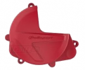 Clutch cover protector POLISPORT PERFORMANCE red CR 04